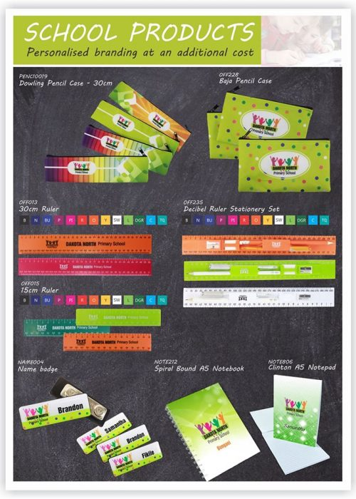 Arcana Branded School Products